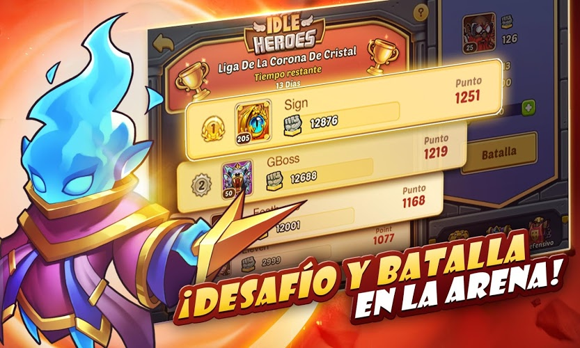 Juega Idle Heroes on PC 7