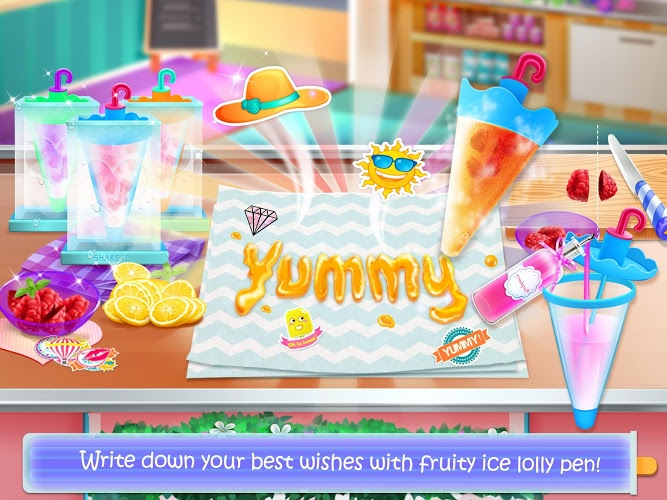 Chơi Ice Cream Lollipop Maker on PC 14