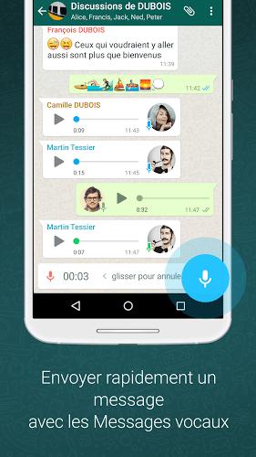 Jouez à  WhatsApp sur PC 5