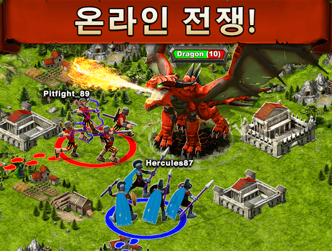 즐겨보세요 Game of War on PC 4