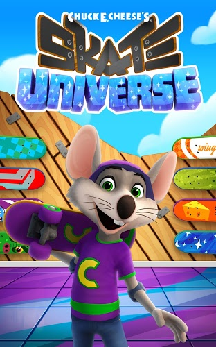 Play Chuck E 's Skate Universe on PC 1