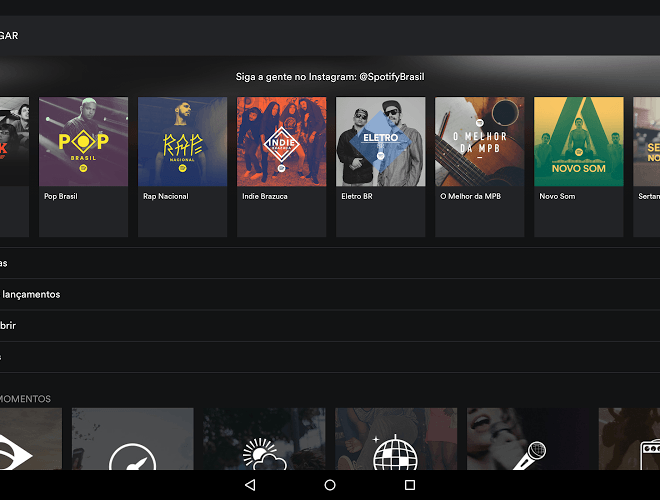 Jogue Spotify android app para PC 7