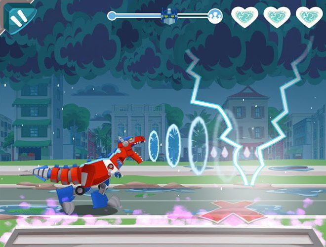 Play Transformers Rescue Bots: Dash on PC 12