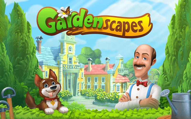 Spiele Gardenscapes auf PC 21