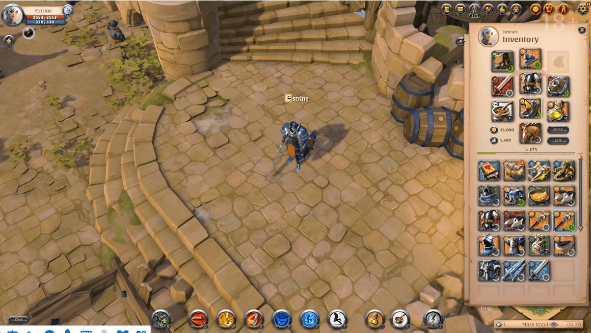 沙盒類MMORPG《阿爾比恩 Online》 探尋世界的獨屬路線