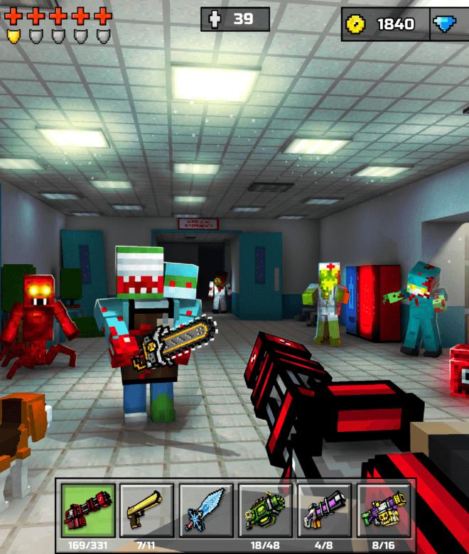 Pixel Gun 3D: Survival shooter & Battle Royale İndirin ve PC'de Oynayın 11