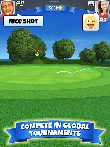 Play Golf Clash on PC 9