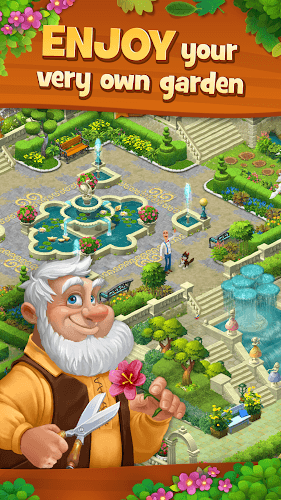 เล่น Gardenscapes on PC 4