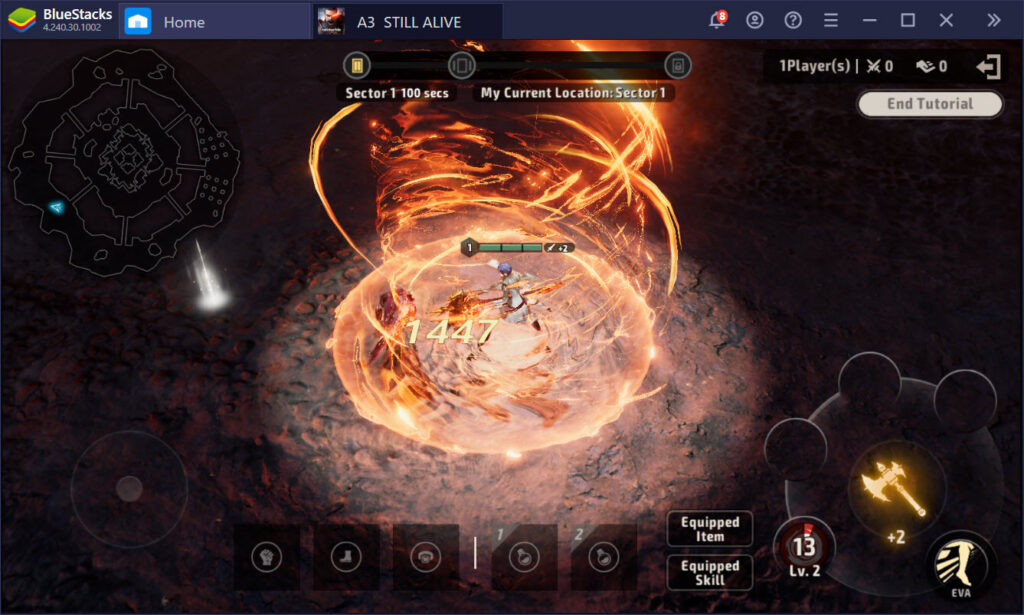 Trải nghiệm game 3D đỉnh cao A3: Still Alive cùng BlueStacks