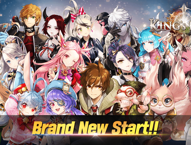 Play King's Raid on PC 14