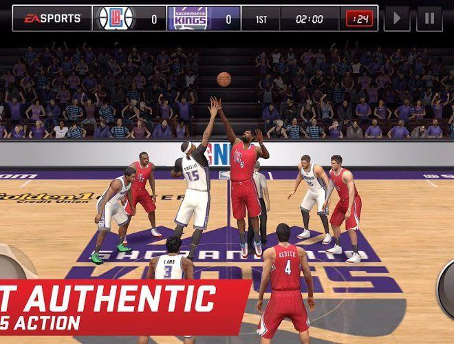 เล่น NBA LIVE Mobile on PC 9