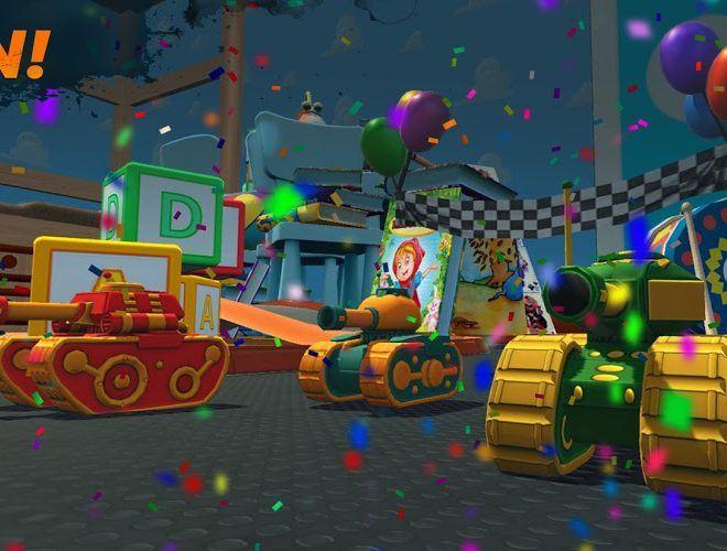 Play War Tank Racing Online 3d on PC 7