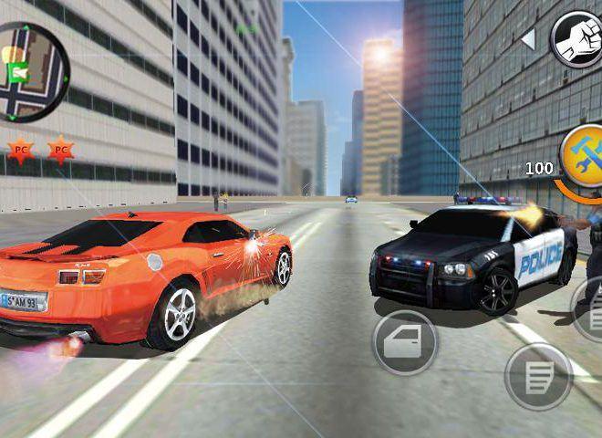 เล่น Grand Gangsters 3D on PC 10