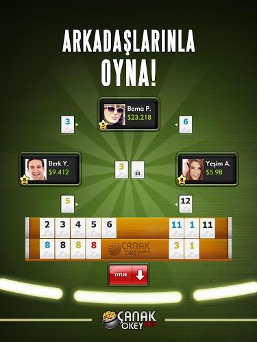 Play Canak Okey Plus on PC 9