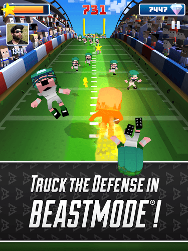 Play Blocky BEASTMODE® Football on PC 12