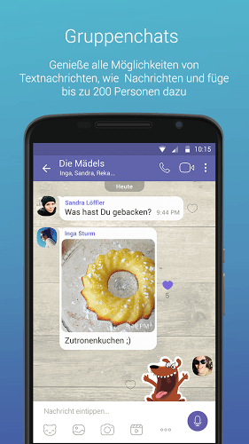 Spielen Viber on PC 7