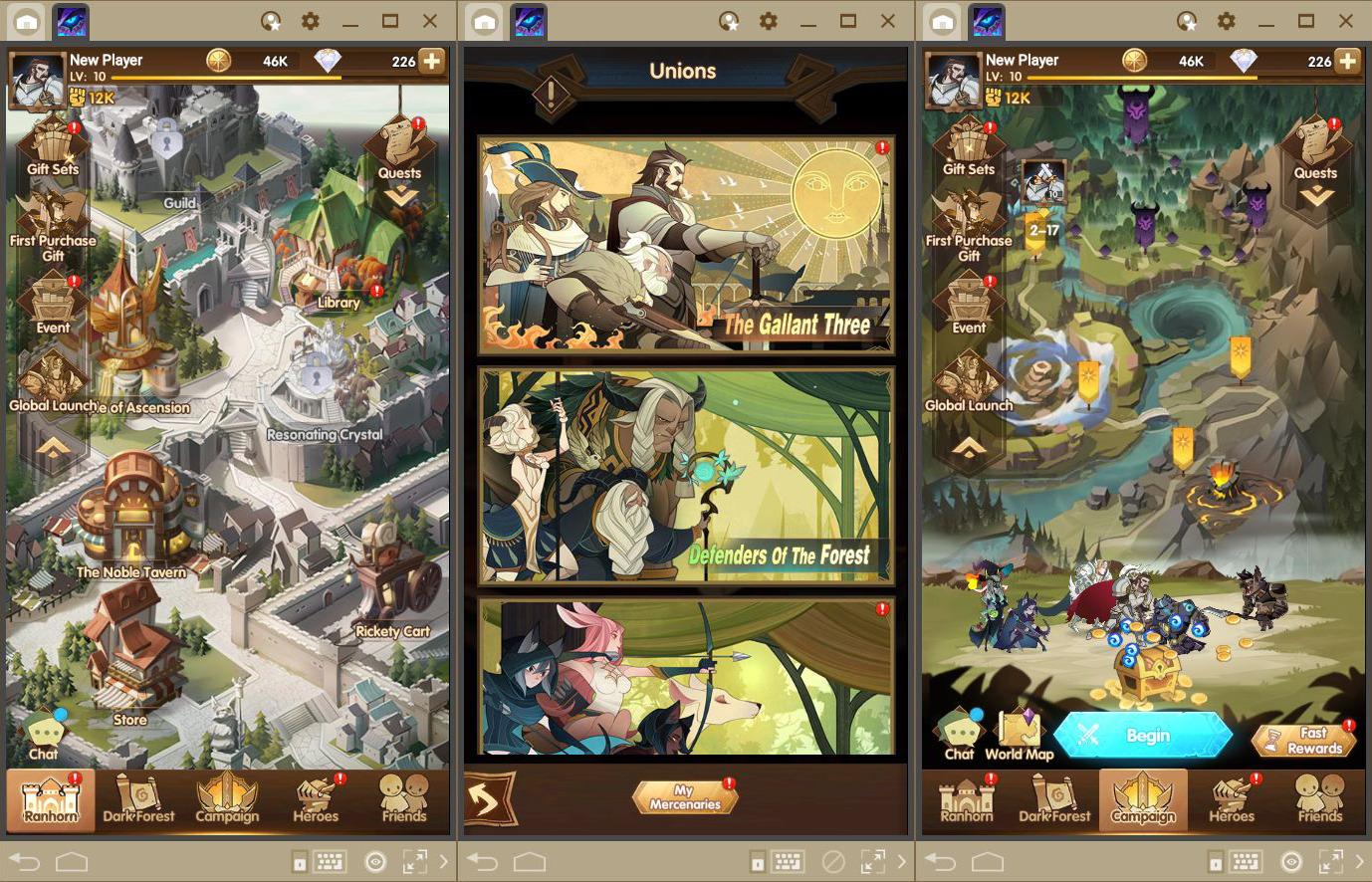 AFK 아레나 PC – 게임 초반에 사용하기 좋은 캐릭터 Top 5
