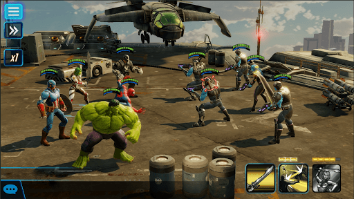 Play MARVEL Strike Force on PC 8