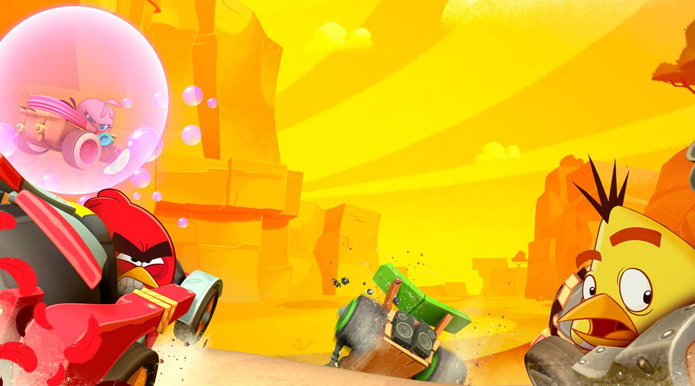 download angry birds go full mod apk