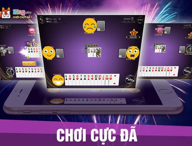 Chơi Zing Play Tienlen on pc 2