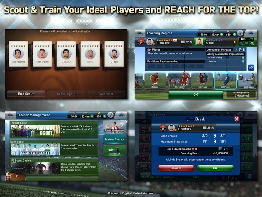 เล่น PES CLUB MANAGER on PC 12