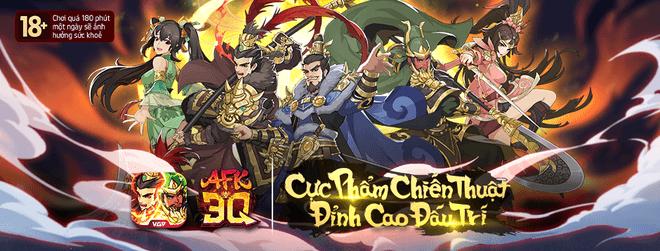 AFK 3Q – Đế Vương Thiên Hạ ra mắt game thủ Việt Nam