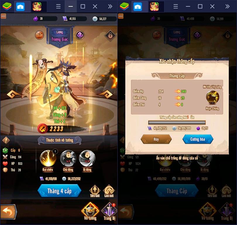 Mẹo vượt ải nhanh trong AFK 3Q – Đế Vương Thiên Hạ