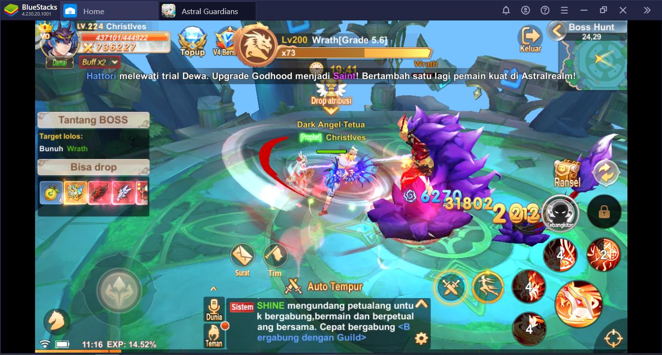 Panduan Lengkap Menaklukkan Bos dan Dungeon di Astral Guardians: Cyber Fantasy