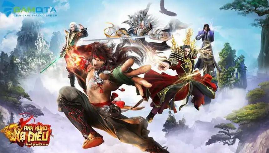 Anh Hùng Xạ Điêu: Giới thiệu các lớp nhân vật trong game