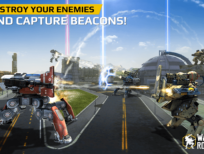 Play Walking War Robots on PC 4