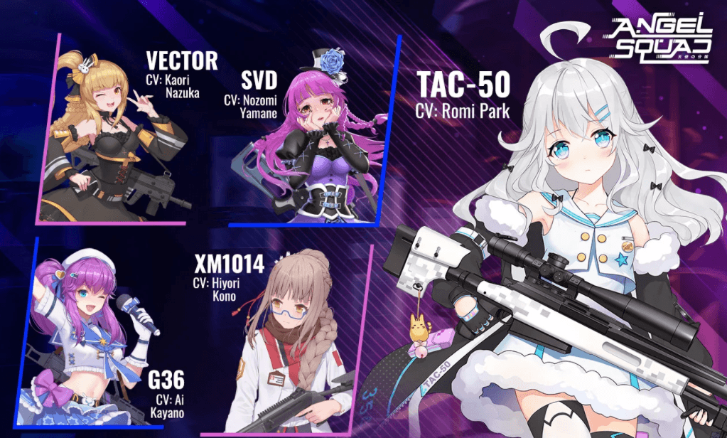 Shooter-RPG Mobile, Angel Squad Telah Buka Pre-Registration!