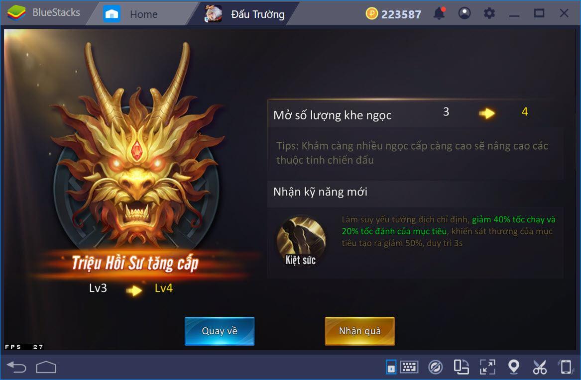 Những lưu ý khi chơi AOG – Đấu Trường Vinh Quang