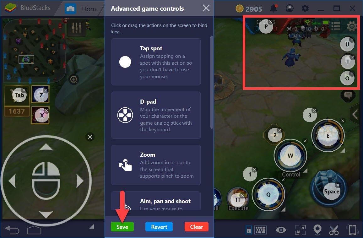 Hướng dẫn thiết lập Game controls khi chơi Liên Quân Mobile với BlueStacks 4
