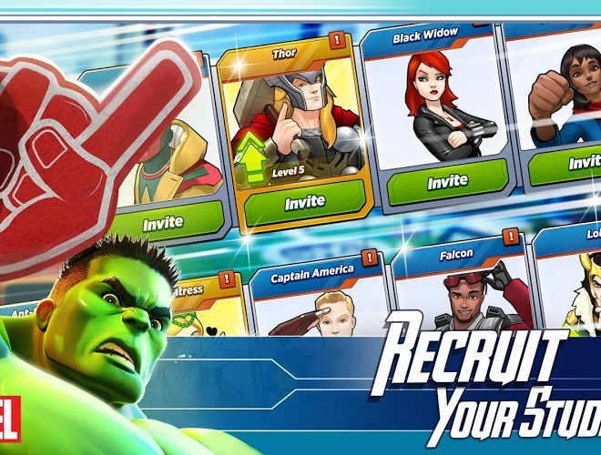เล่น Marvel Avengers Academy on PC 4