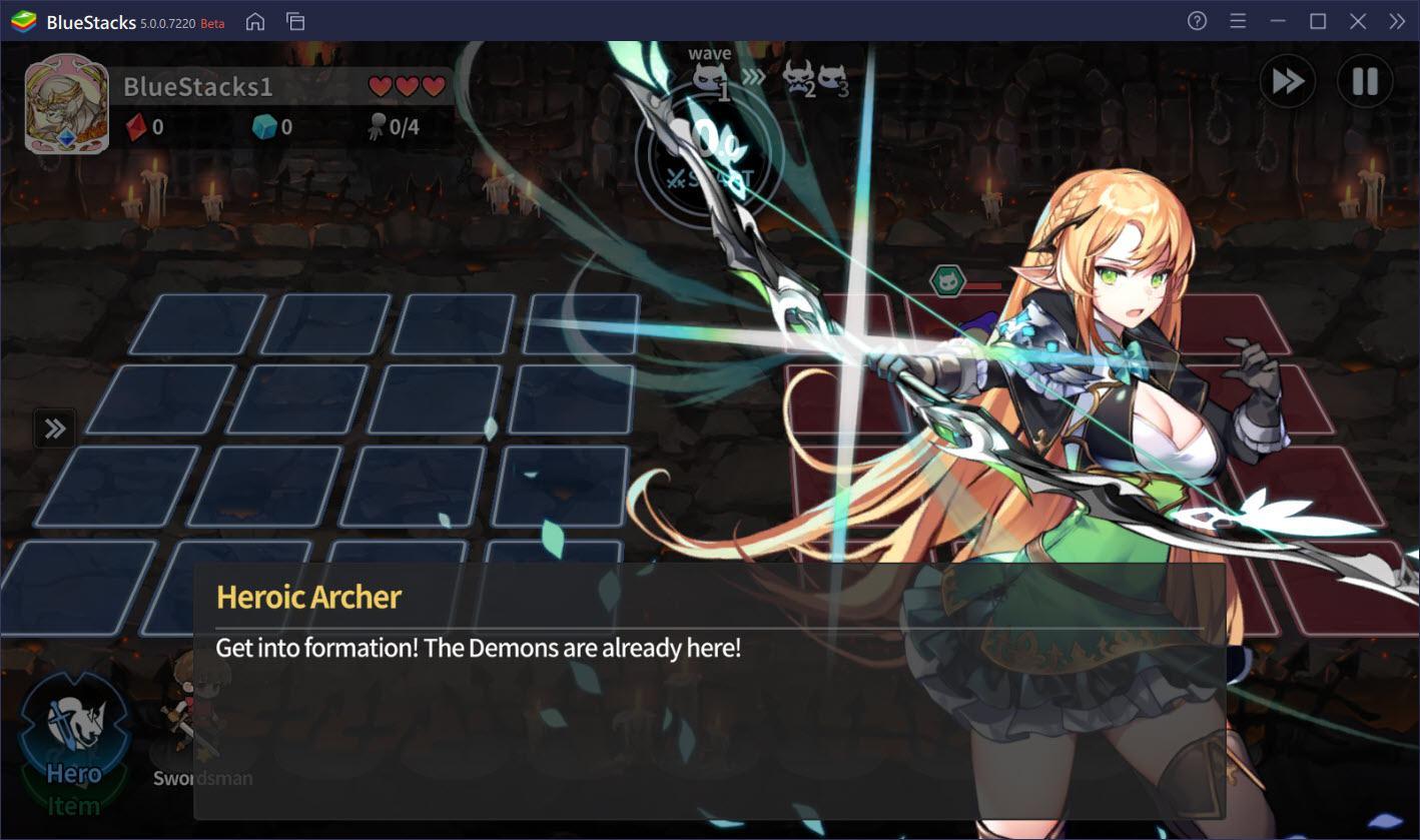 Trải nghiệm thế giới fantasy tuyệt đẹp Arcana Tactics trên PC cùng BlueStacks