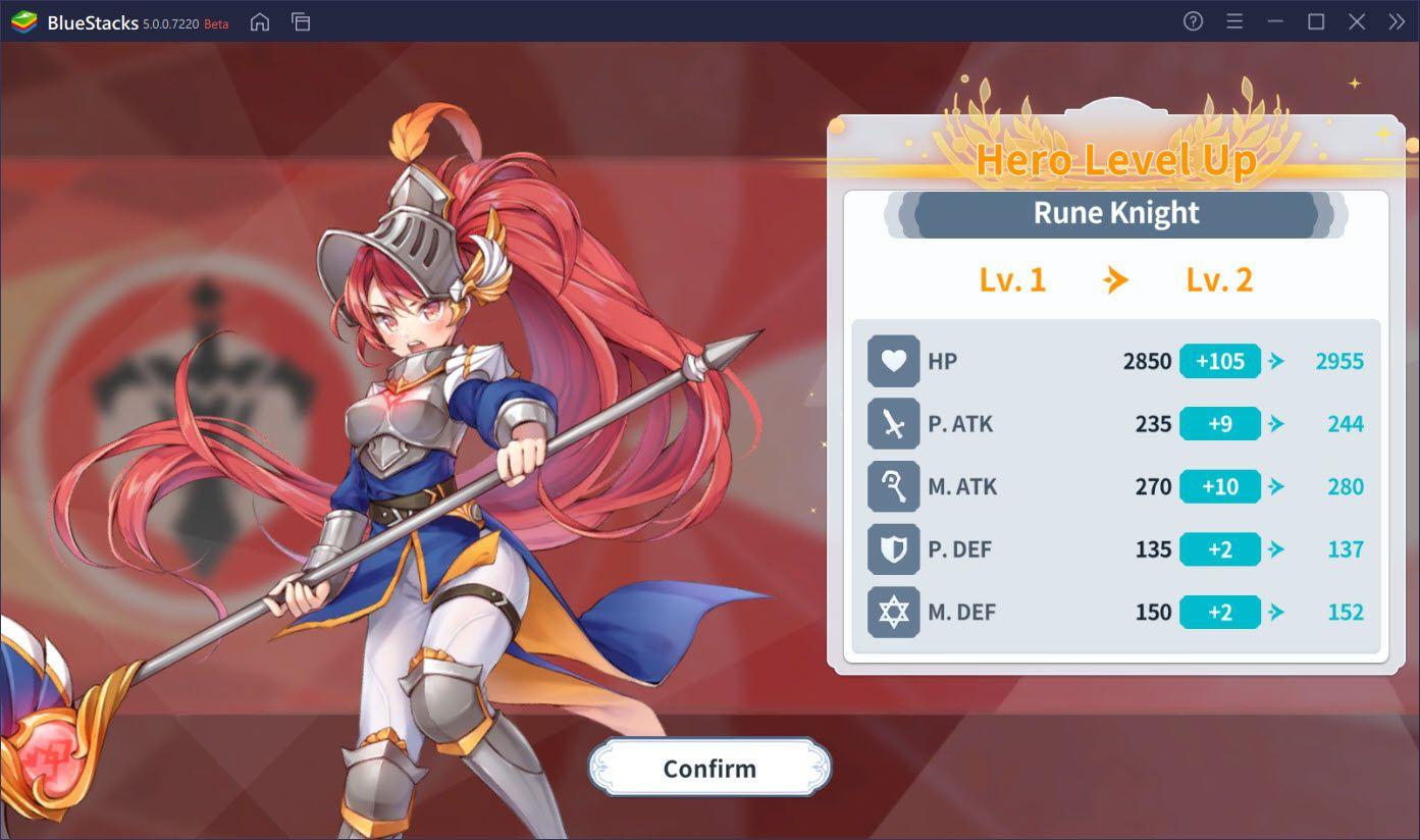 Arcana Tactics: Tìm hiểu hệ thống nâng cấp, làm thế nào để chiêu mộ tướng