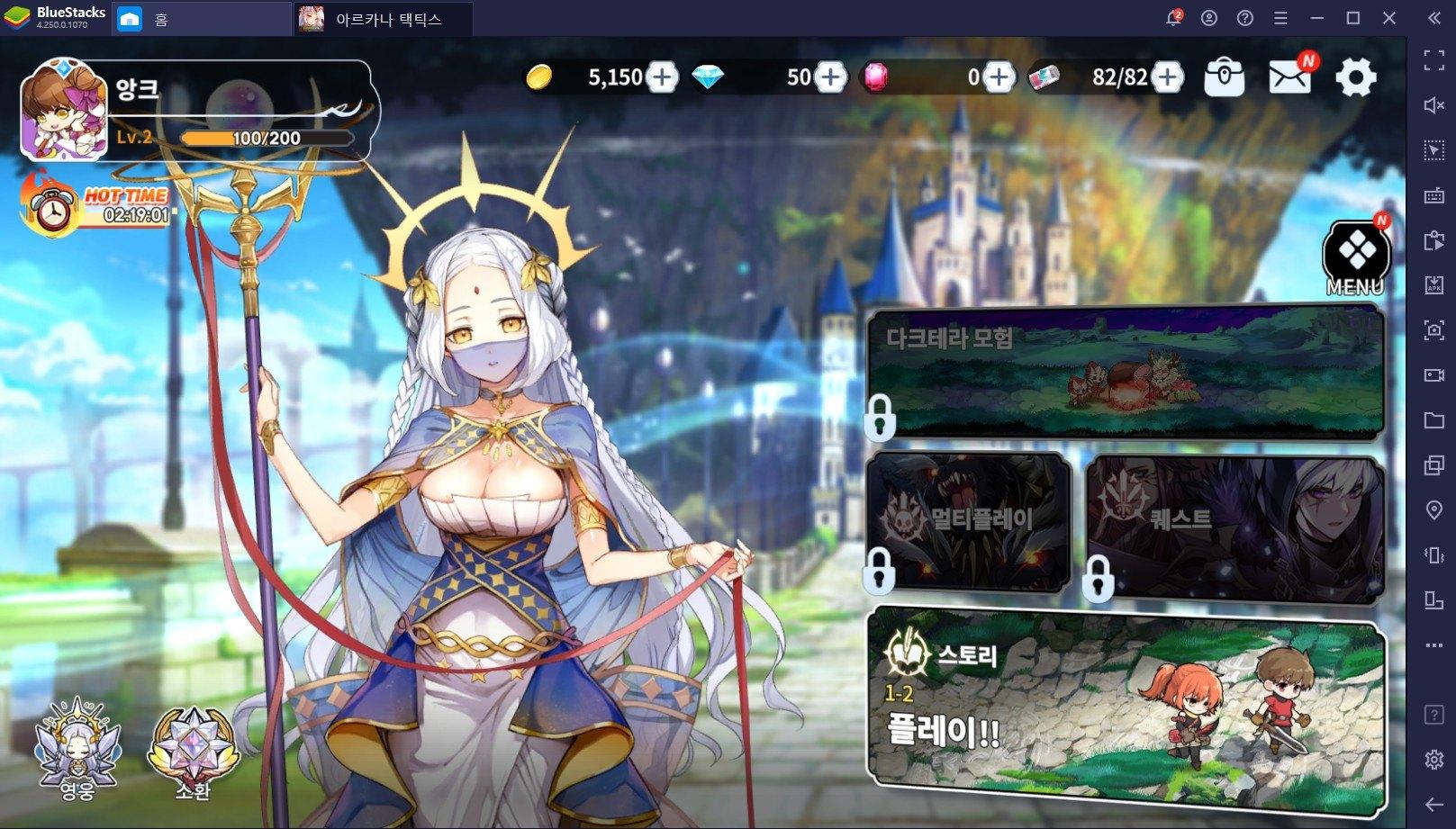 Arcana Tactics mở Closed Beta toàn cầu, chơi tốt với BlueStacks