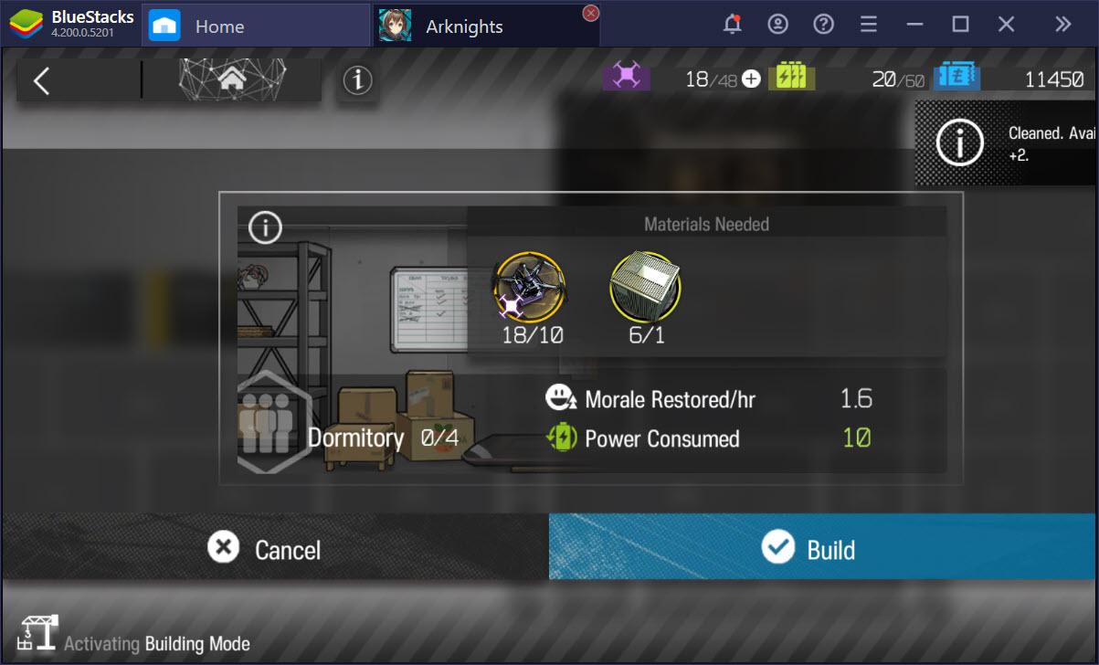 Cùng tìm hiểu cách xây dựng nhà trong Arknights với BASE