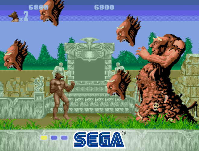 Play Altered Beast on PC 3