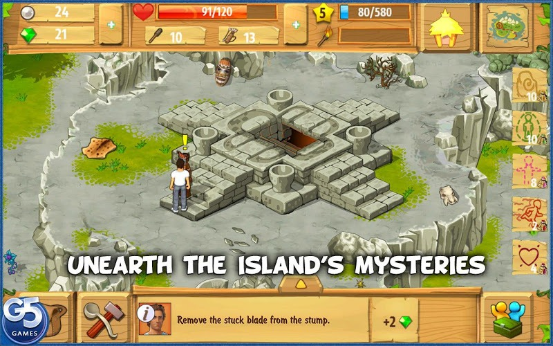 Download island castaway: lost world on pc with bluestacks.