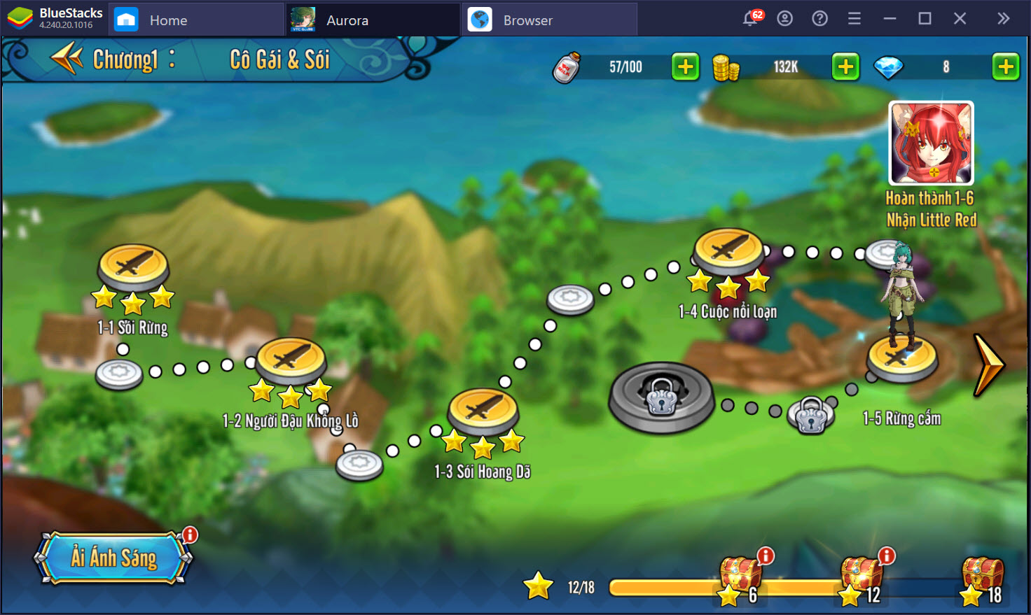 Cách chơi cơ bản dành cho tân thủ Aurora – Vùng đất huyền thoại