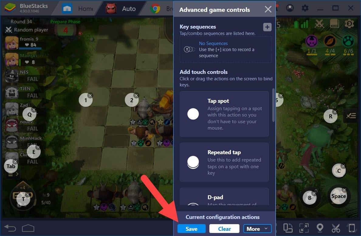 Thiết lập Game Controls tối ưu điều khiển khi chơi Auto Chess với BlueStacks