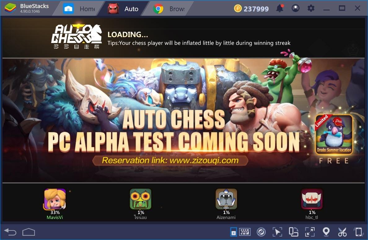 Các chế độ chơi trong Auto Chess