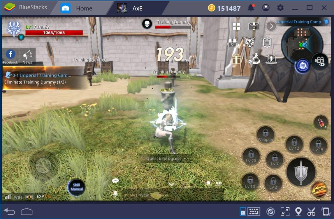 使用BlueStacks初次體驗《AxE:背水一戰》
