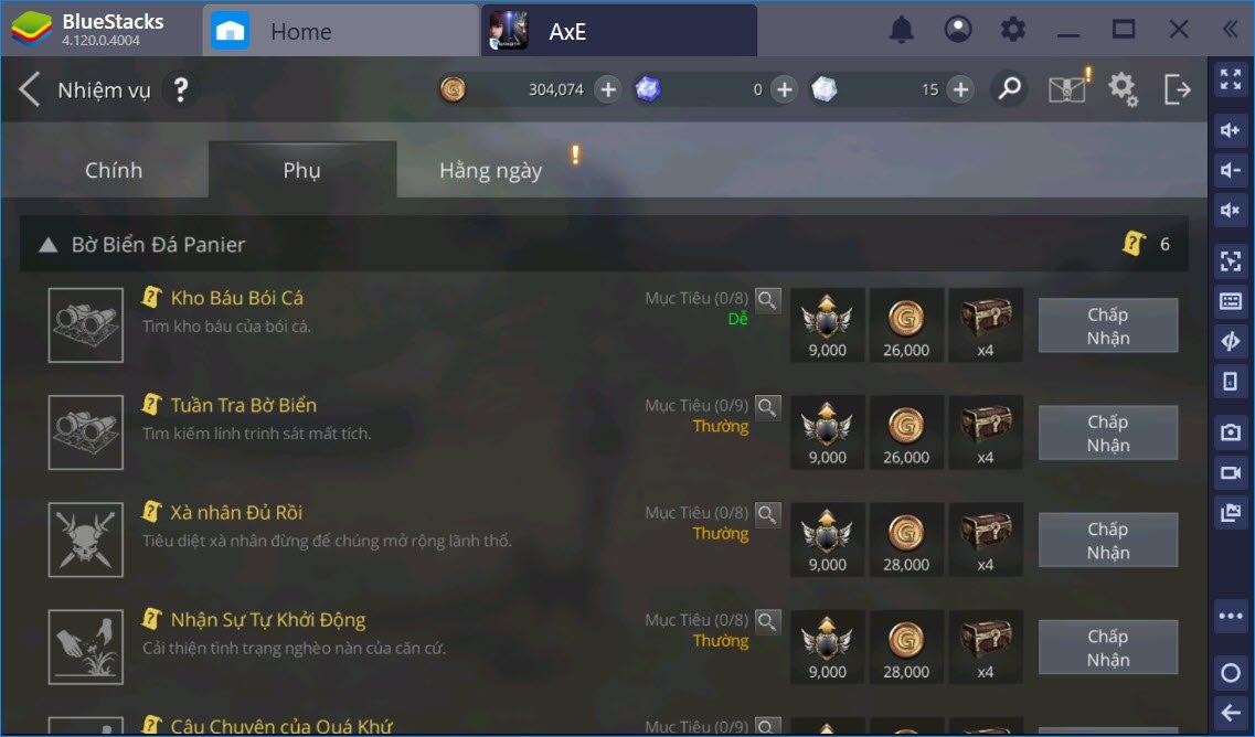 Những lưu ý không thể bỏ qua khi chơi AxE: Alliance x Empire Việt Nam