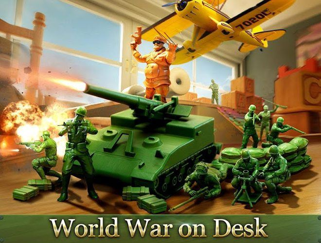 Play Army Men Strike on PC 2