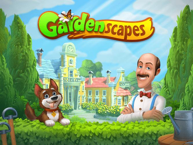 Spiele Gardenscapes auf PC 14