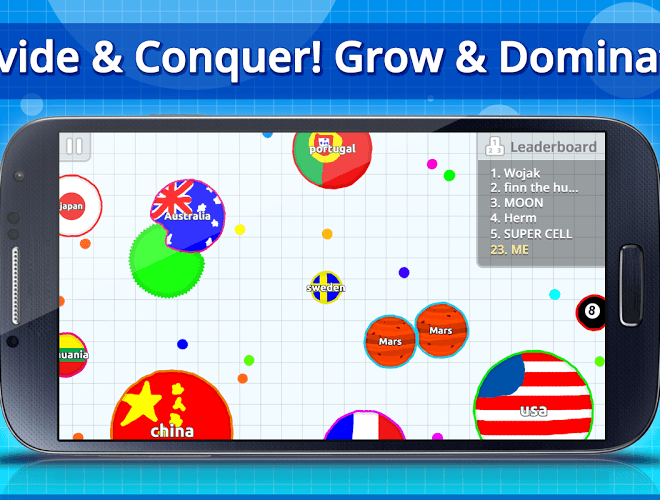 เล่น Agar.io on PC 3