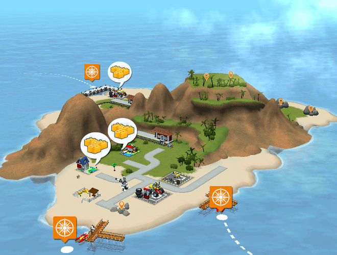 เล่น LEGO® Creator Islands on PC 2
