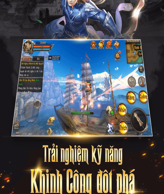 Play Kiếm Khách VNG on PC 15